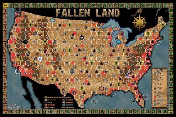 Fallen Land Map