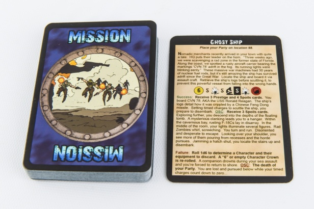 Fallen Land Mission Cards
