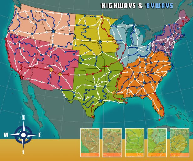 Highways & Byways Updated Board