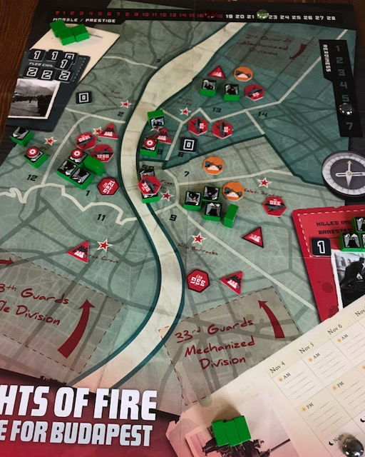 Nights of Fire Map