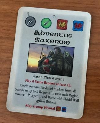 Pendragon Adventus Saxonum