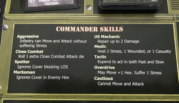 Sherman Leader Commander Skills
