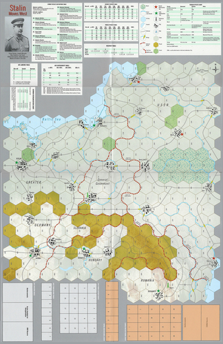 Stalin Moves West Map