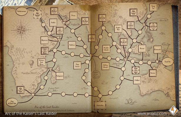 ArcOfTheLostRaider Map