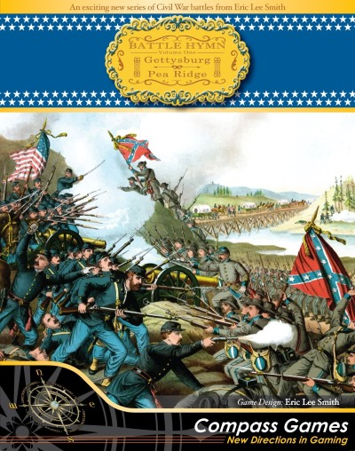 Battle Hymn Volume I Gettysburg & Pea Ridge from Compass Games