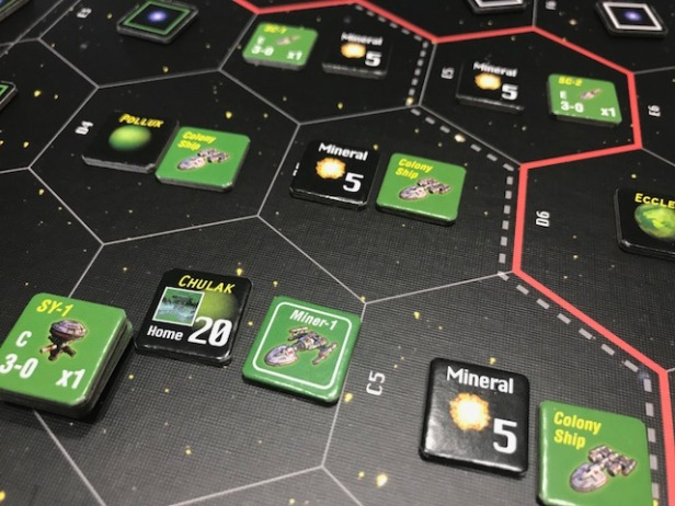 Space Empires 4X Exploring the Home System