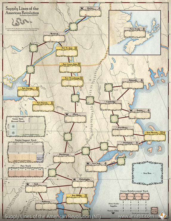 SupplayLines Map