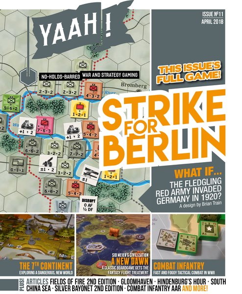 Interview with Brian Train Designer of Strike for Berlin