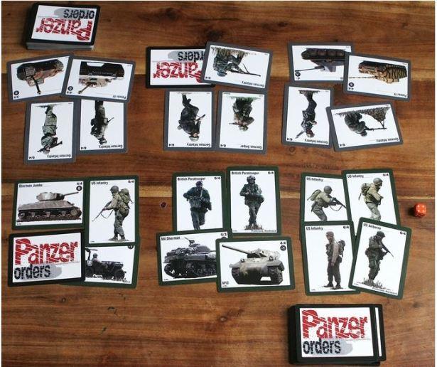 Matt White 2 Player Game Panzer Orders