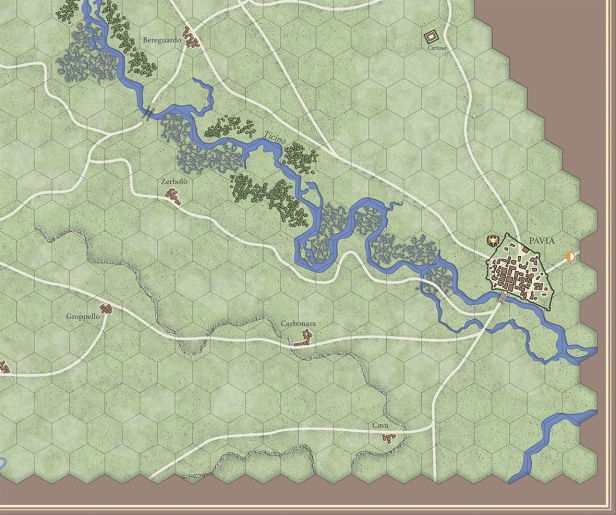 Radetsky's March Map