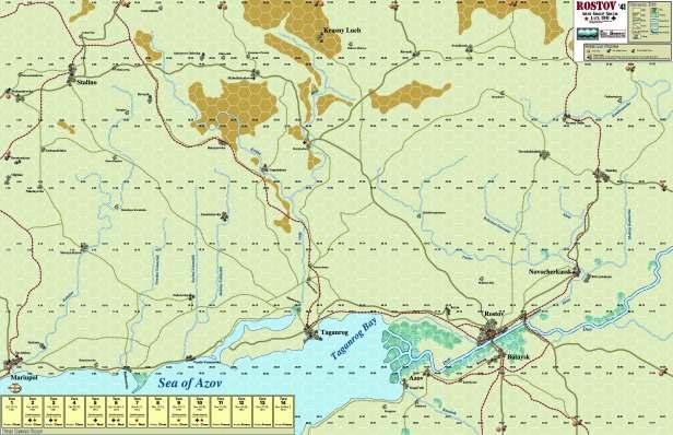 Rostov Map