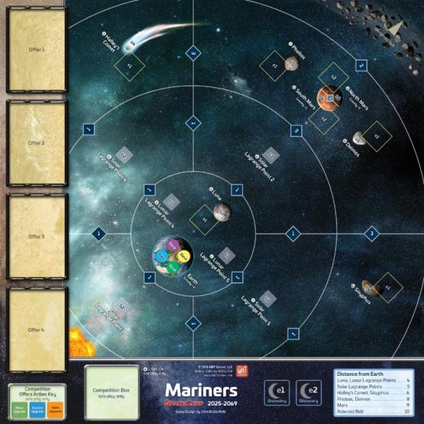 SpaceCorp Mariners Map