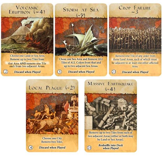 Ancient Civ of the Inner Sea Cards