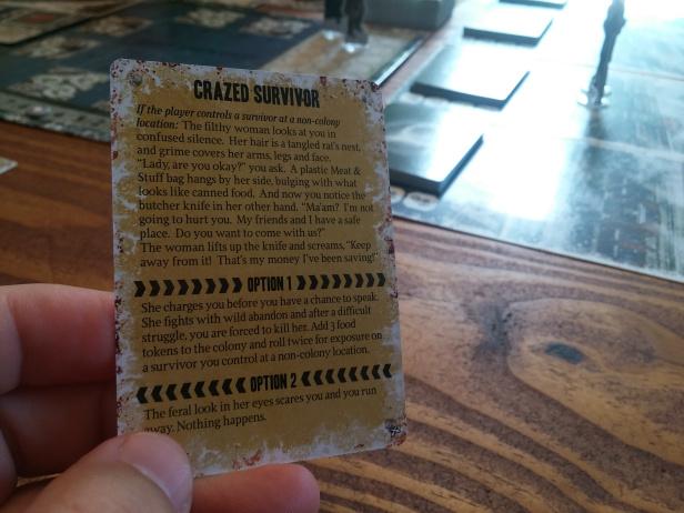 Dead of Winter Card