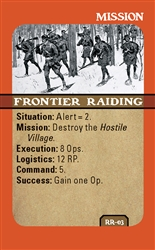 Rogers' Rangers Mission Card