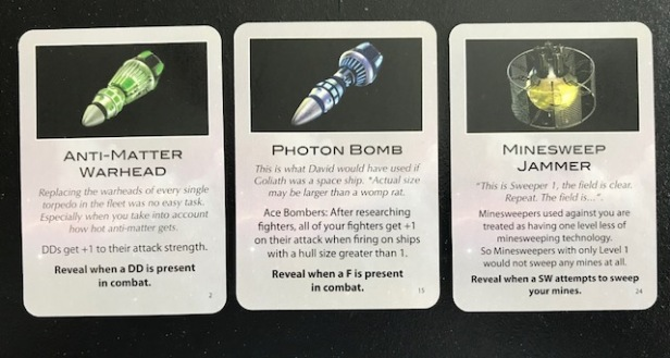 Space Empires 4X Alien Technology Cards 1
