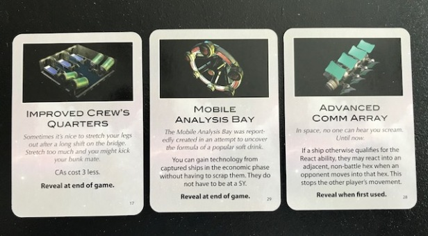 Space Empires 4X Alien Technology Cards 3
