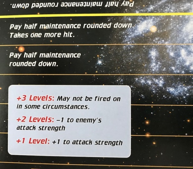 Space Empires 4X Battle Board Experience Closeup