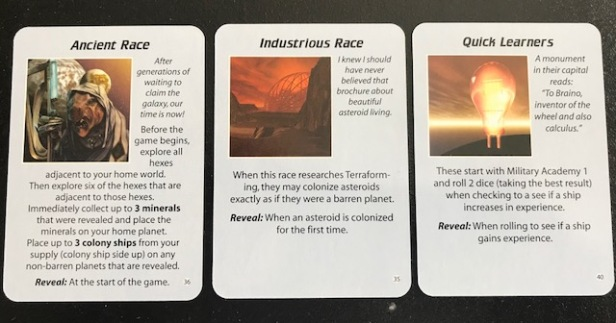 Space Empires 4X Empire Advantage Cards 1