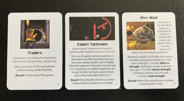 Space Empires 4X Empire Advantage Cards 2