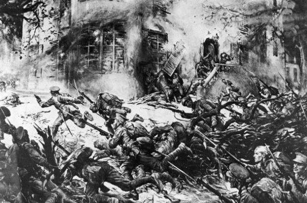 The Devil Dogs of Belleau Wood Combat