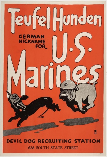 The Devil Dogs of Belleau Wood Poster