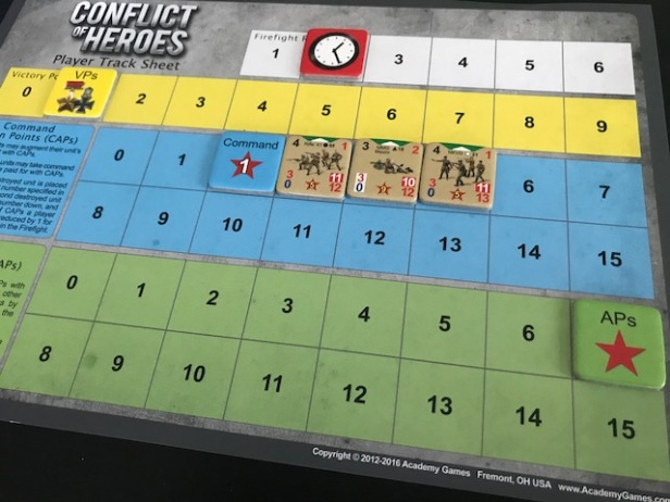 Conflict of Heroes APs Tracking