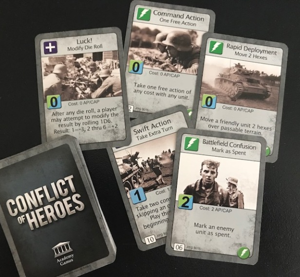 Conflict of Heroes Cards
