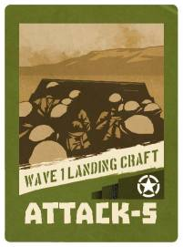 D-Day Op Overlord Card 3 Wave 1 Landing Craft