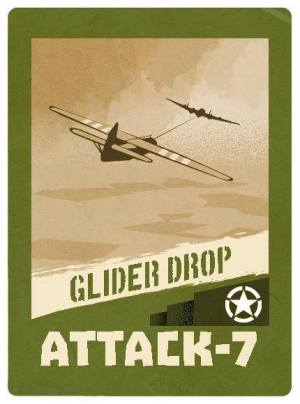D-Day Op Overlord Card 4 Glider Drop