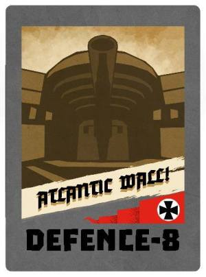 D-Day Op Overlord Card 5 Atlantic Wall