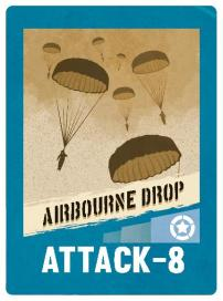 D-Day Op Overlord Card 7 Airbourne Drop