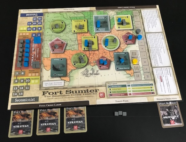 Fort Sumter Board in Play