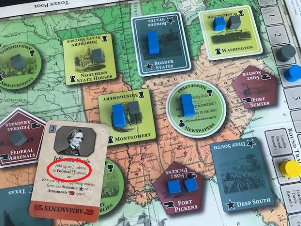 Fort Sumter Card Play #1