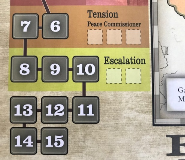 Fort Sumter Crisis Track Escalation and Tension
