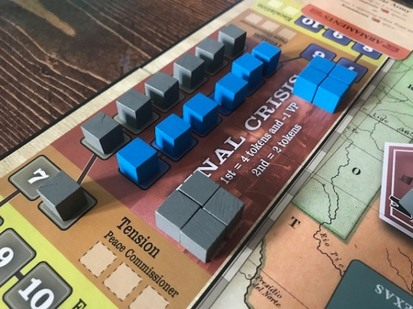 Fort Sumter Crisis Track