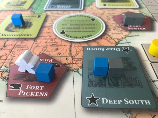 Fort Sumter Peace Commissioner Meeple