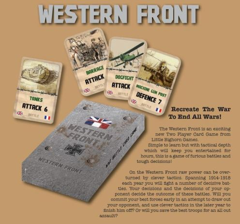 Little Bighorn Games Western Front Card Game