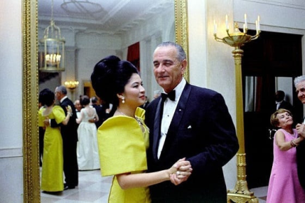 People Power Imelda Dancing with LBJ