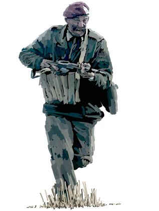 Until the Bitter End British Paratrooper