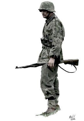 Until the Bitter End German Infantry