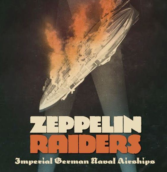 Zeppelin Raider Alternative Cover
