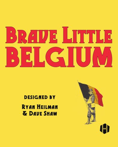 Brave Little Belgium Cover