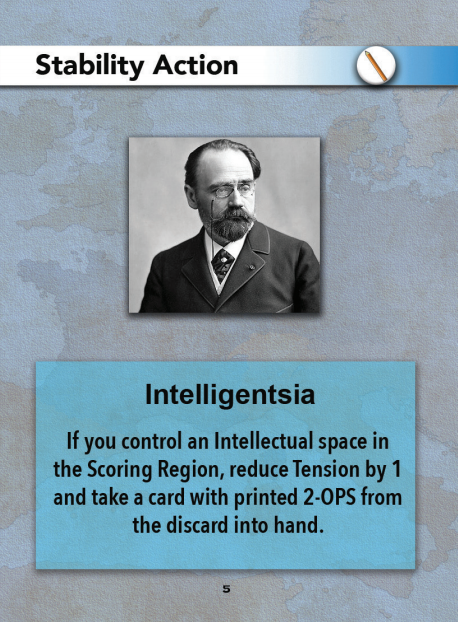 Europe in Turmoil Card Intelligentsia