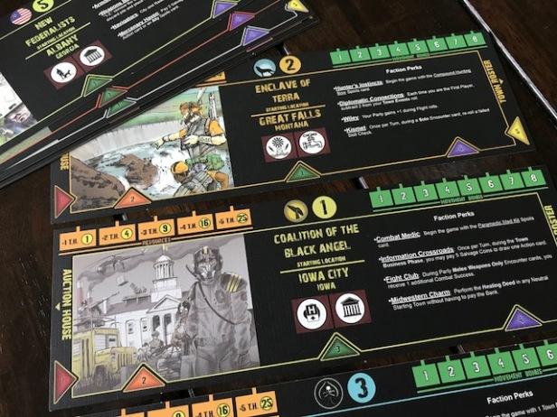 Fallen Land Faction Boards