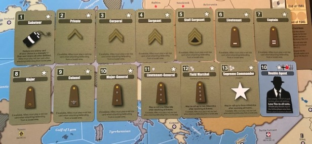 Hitler's Reich Conflict Cards American