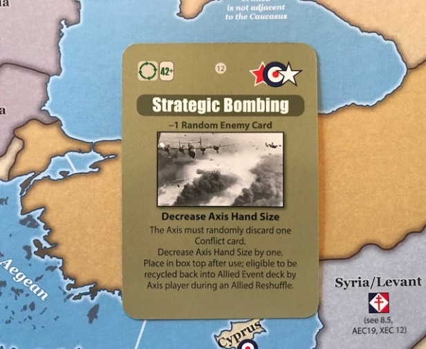 Hitler's Reich Event Card Strategic Bombing
