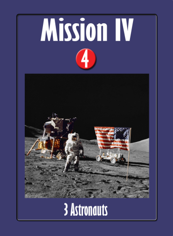 Space Race Mission Card IV