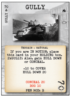 Tank Duel Gulley Card