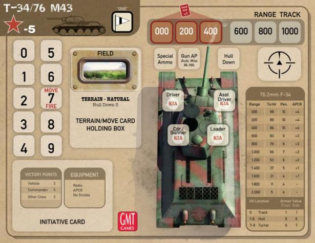 Tank Duel Tank Board Version 2